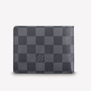 NWT Mens Graphite Multiple Wallet